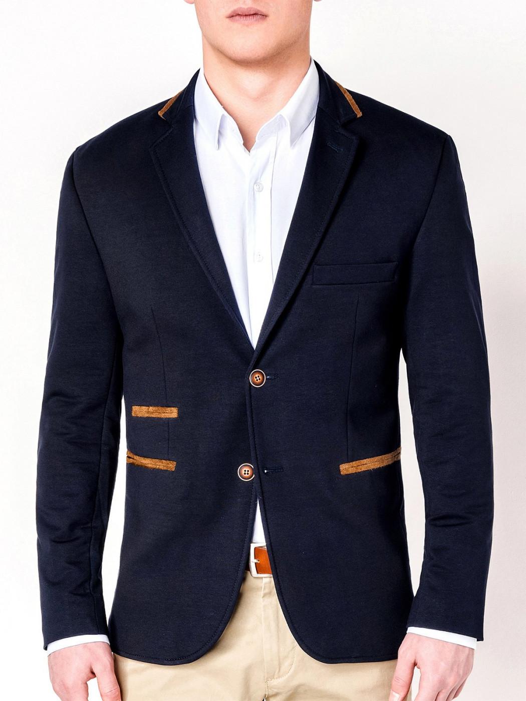 Ombre Clothing Men's casual blazer jacket M72