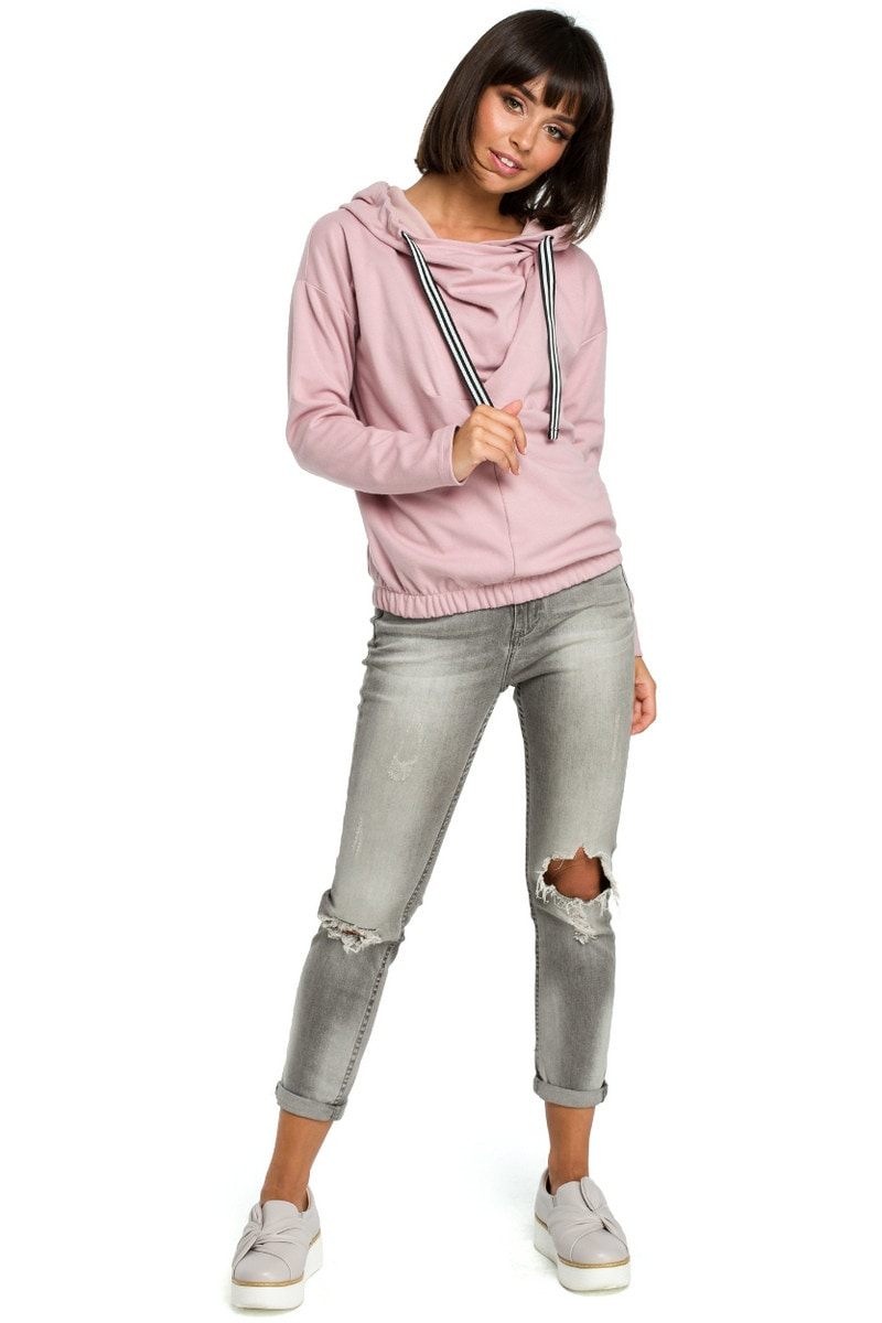 BeWear Woman's Sweatshirt B088 Powder
