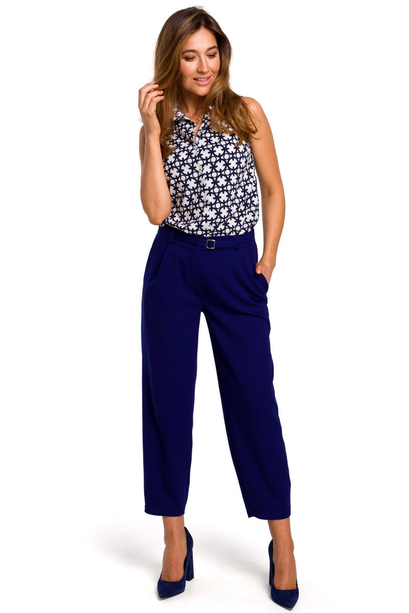 Stylove Woman's Trousers S187 Royal