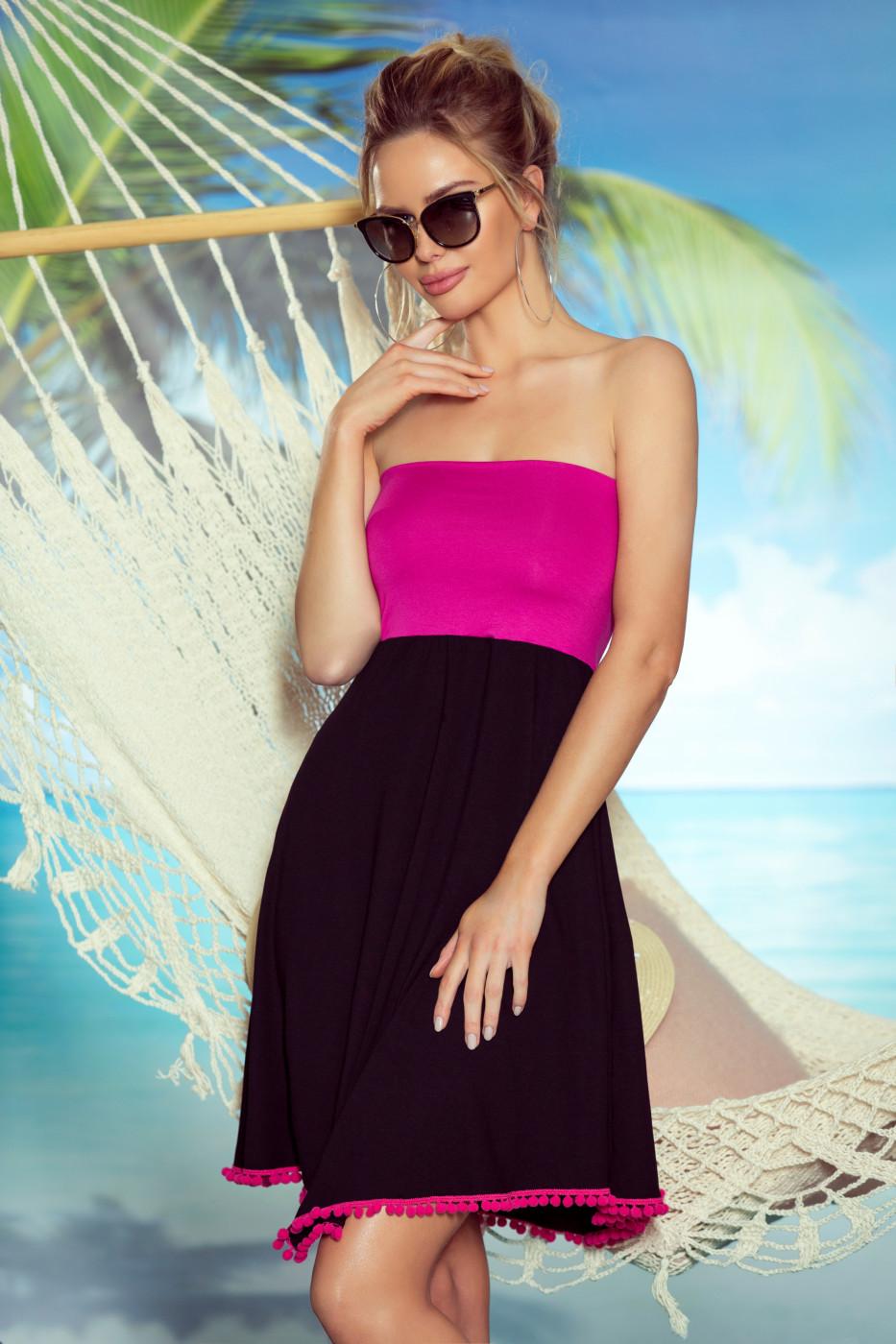 Eldar Woman's Tunic Sandy Black/Pink