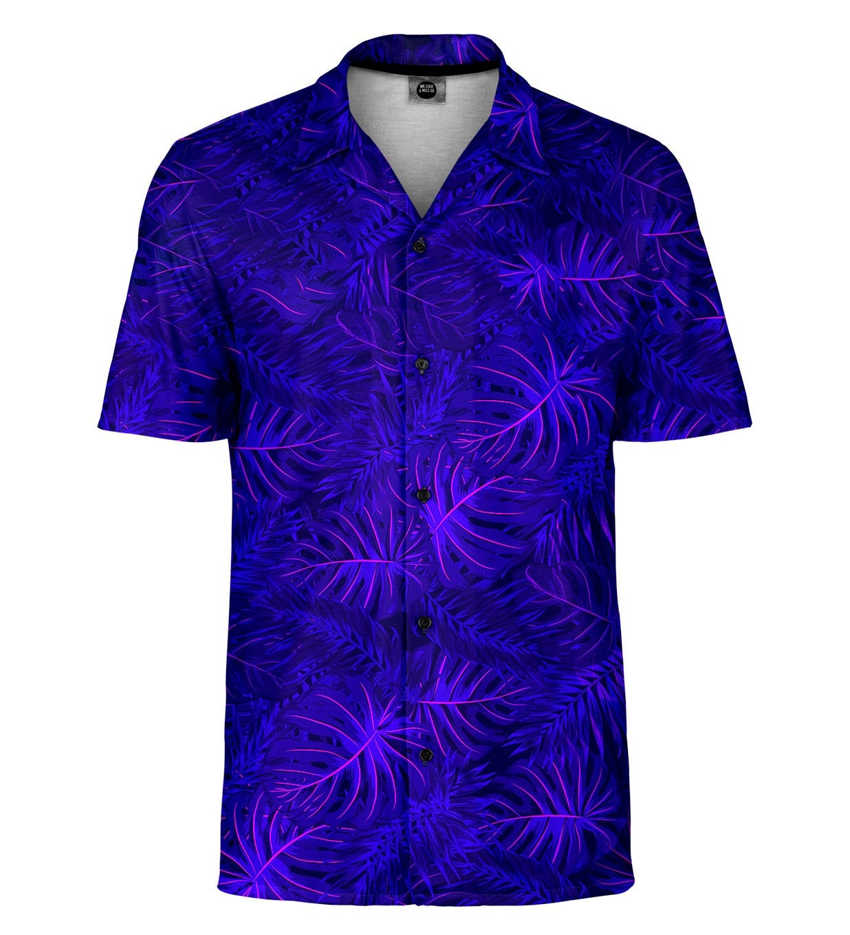 Mr. GUGU & Miss GO Shirt SH-MAN-SHT1282 Violet