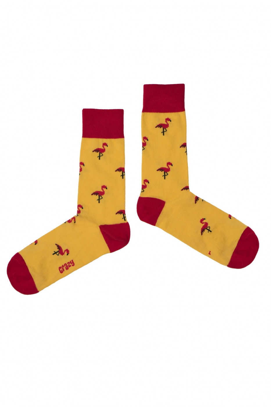 Crazy Socks Unisex's Socks Hot Flamingo