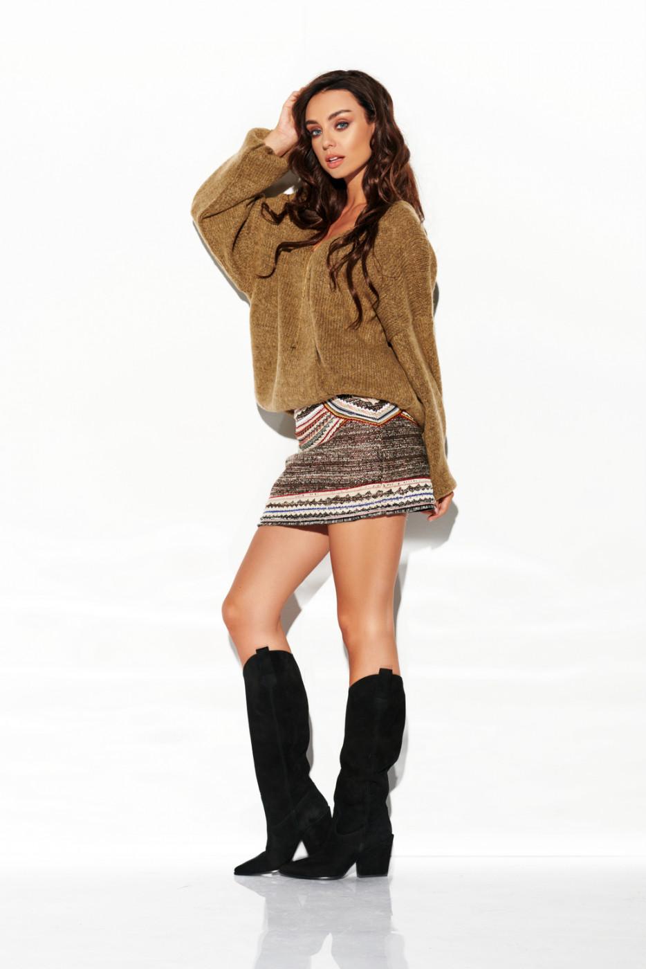 Lemoniade Woman's Sweater LSG111 Cappuccino