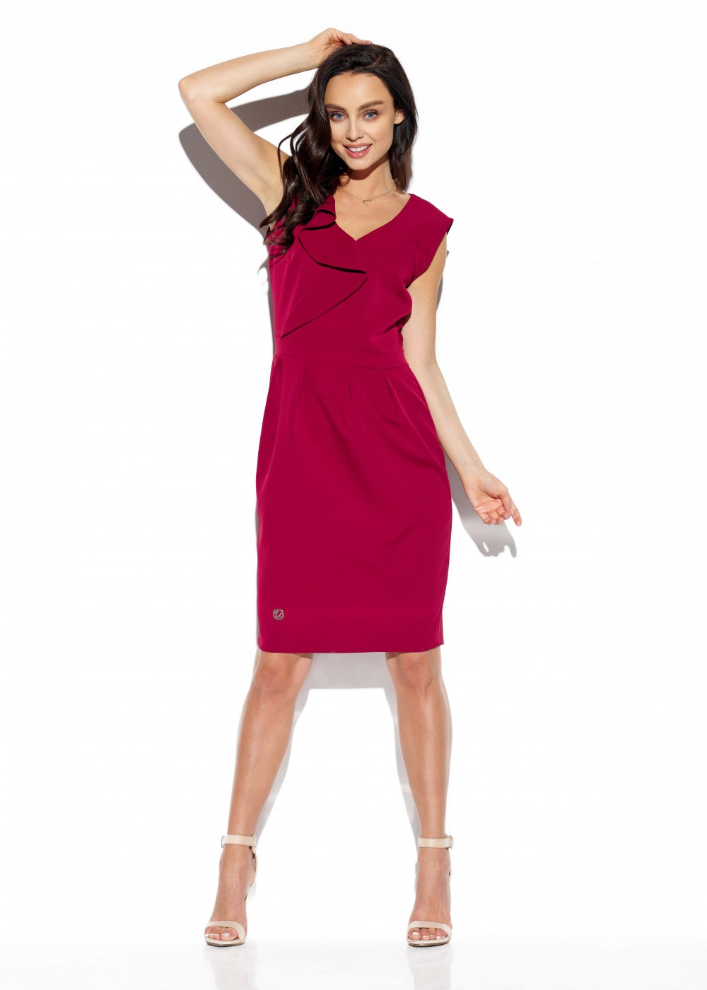 Lemoniade Woman's Dress L337 Crimson
