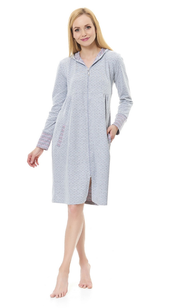 Doctor Nap Woman's Dressing Gown SCL.1155