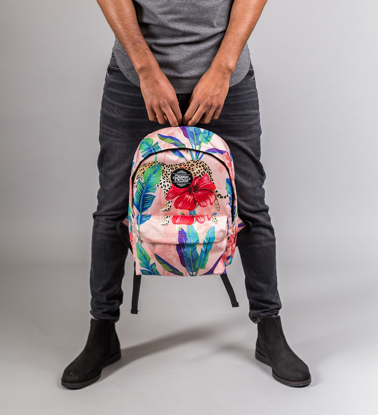 Mr. GUGU & Miss GO Unisex's Backpack BPS033
