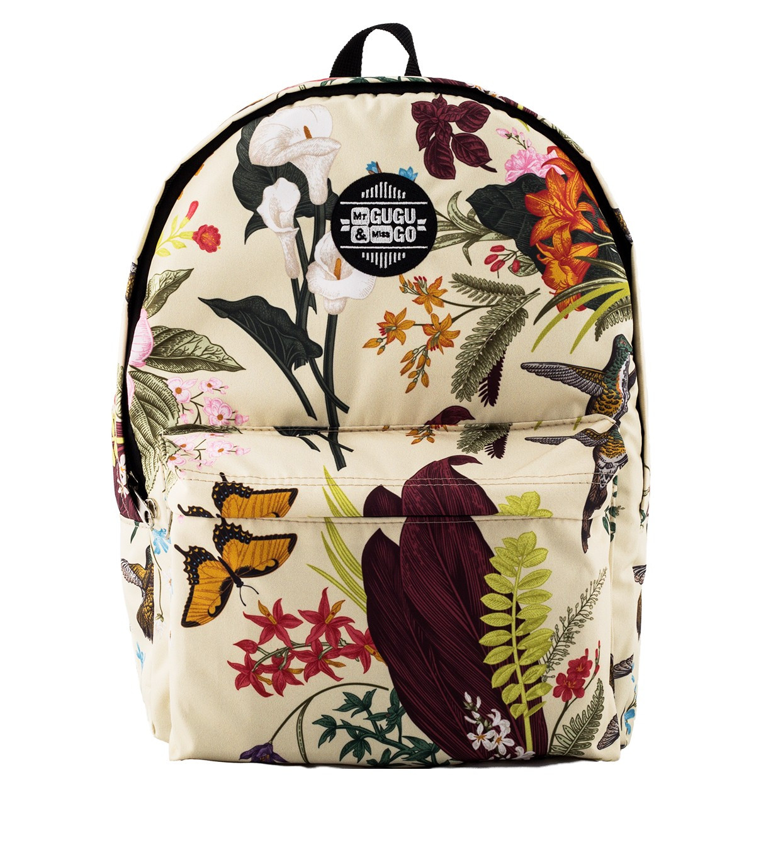 Mr. GUGU & Miss GO Unisex's Backpack BPS032