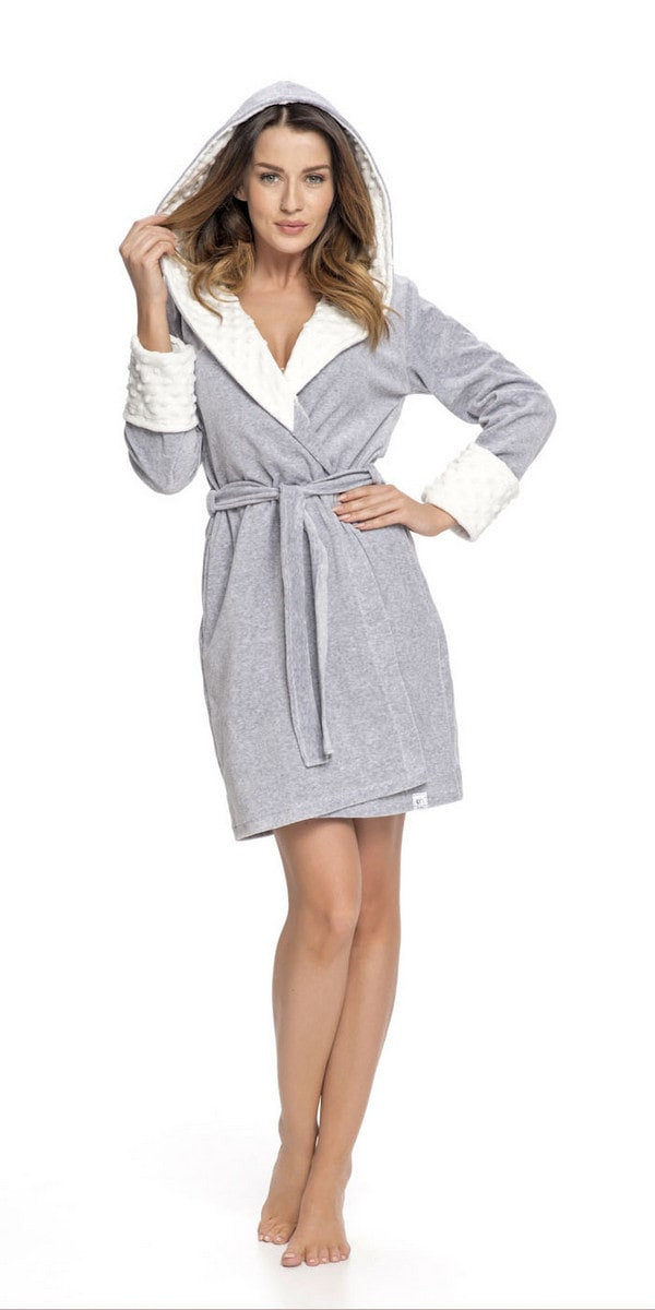 Doctor Nap Woman's Dressing Gown SDB.7059