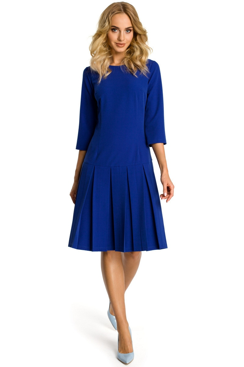 Made Of Emotion Woman's Dress M336 Royal