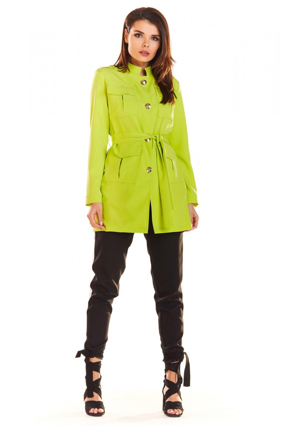 Awama Woman's Jacket A271 Lime