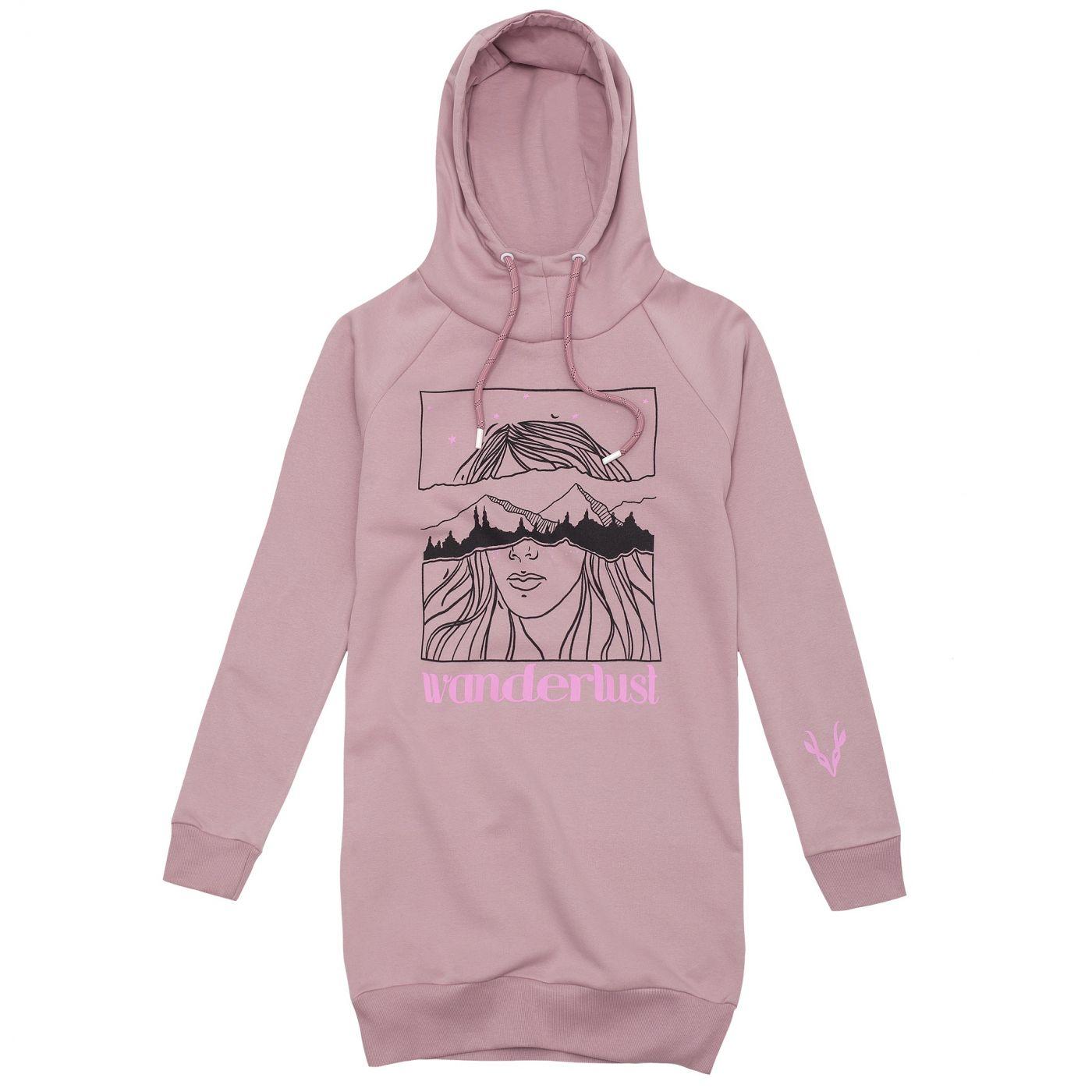 Peakapre Woman's Sweatshirt Wander Ya