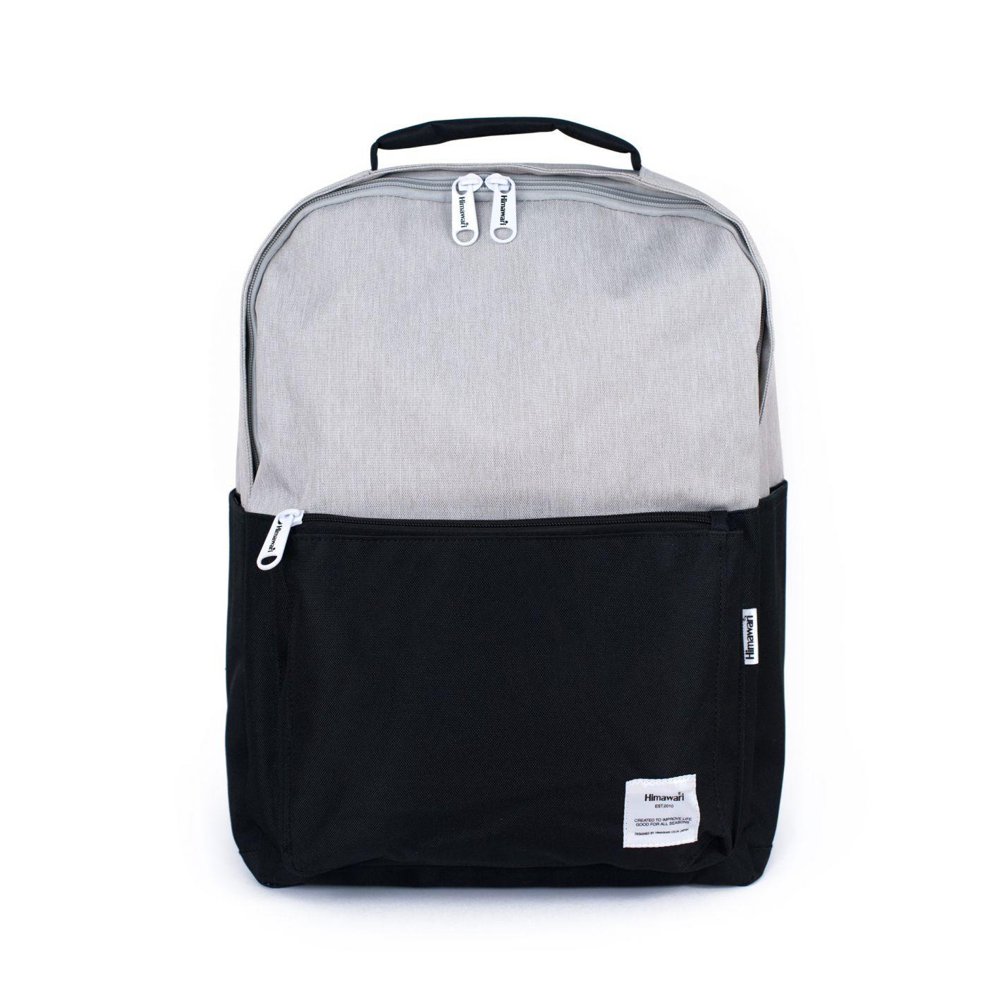 Art Of Polo Unisex's Backpack tr19427 Black/Light Grey