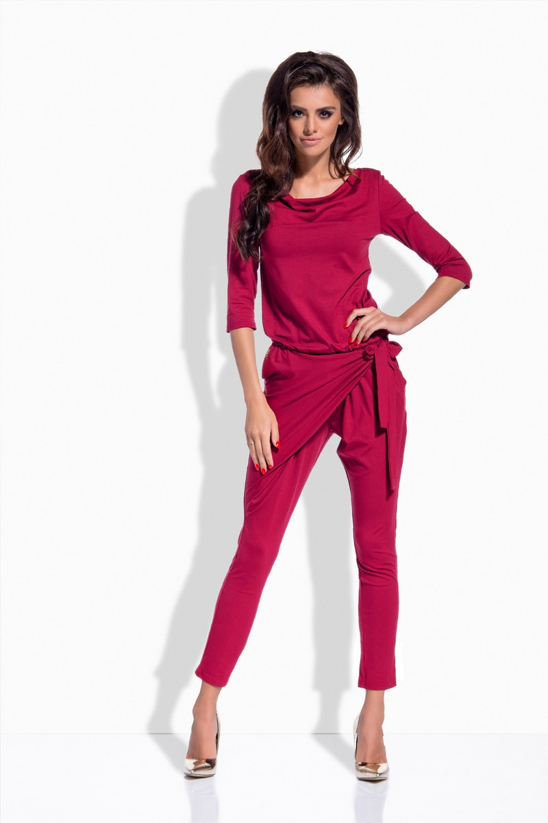 Lemoniade Woman's Overall L156 Crimson