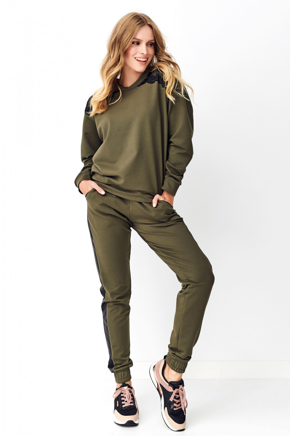 Numinou Woman's Set Nu_Nu249 Khaki