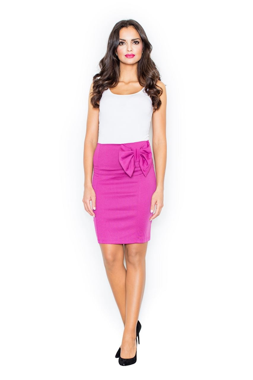 Figl Woman's Skirt M080 Fuchsia