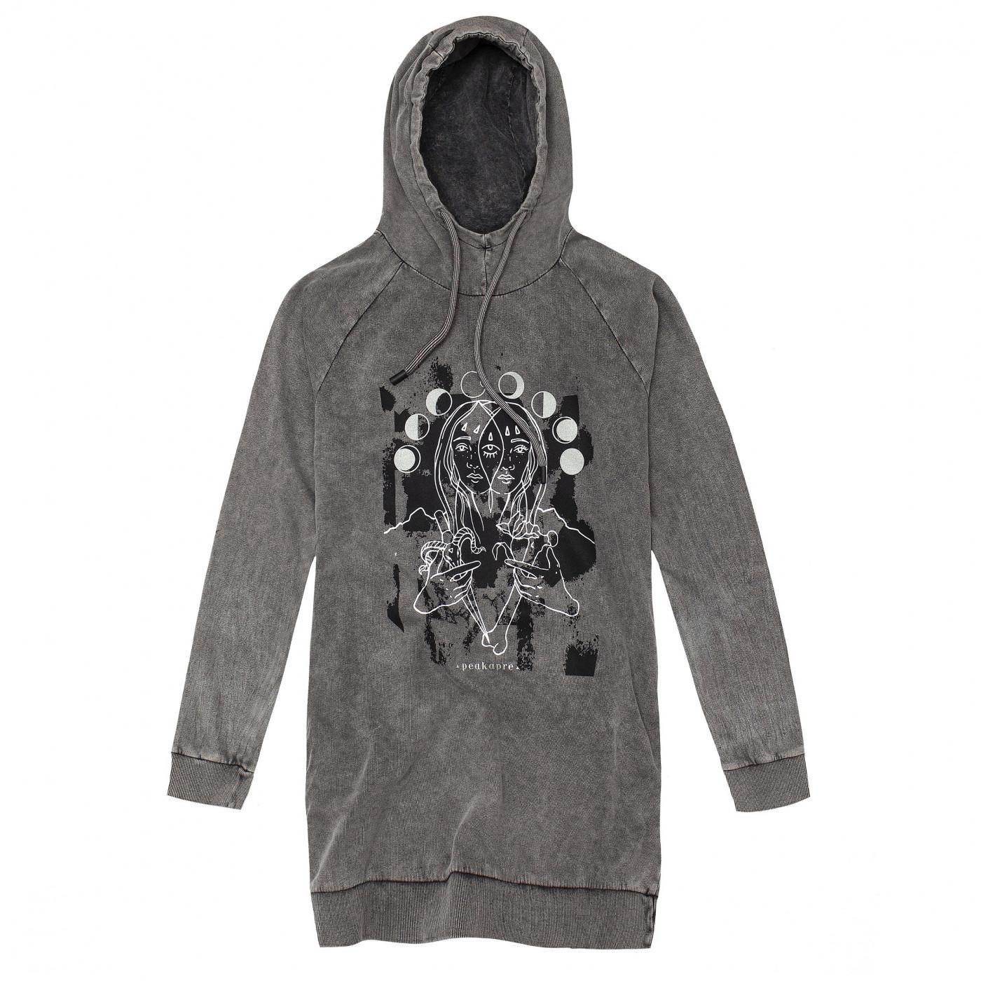 Peakapre Woman's Sweatshirt Bones Ya