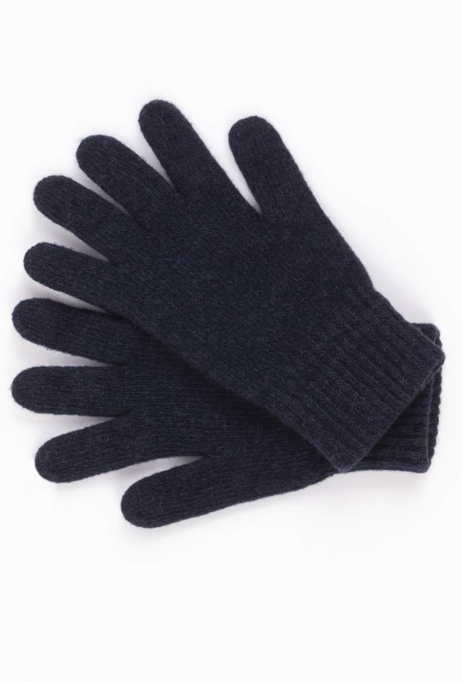 Kamea Woman's Gloves K.18.957.12 Navy Blue