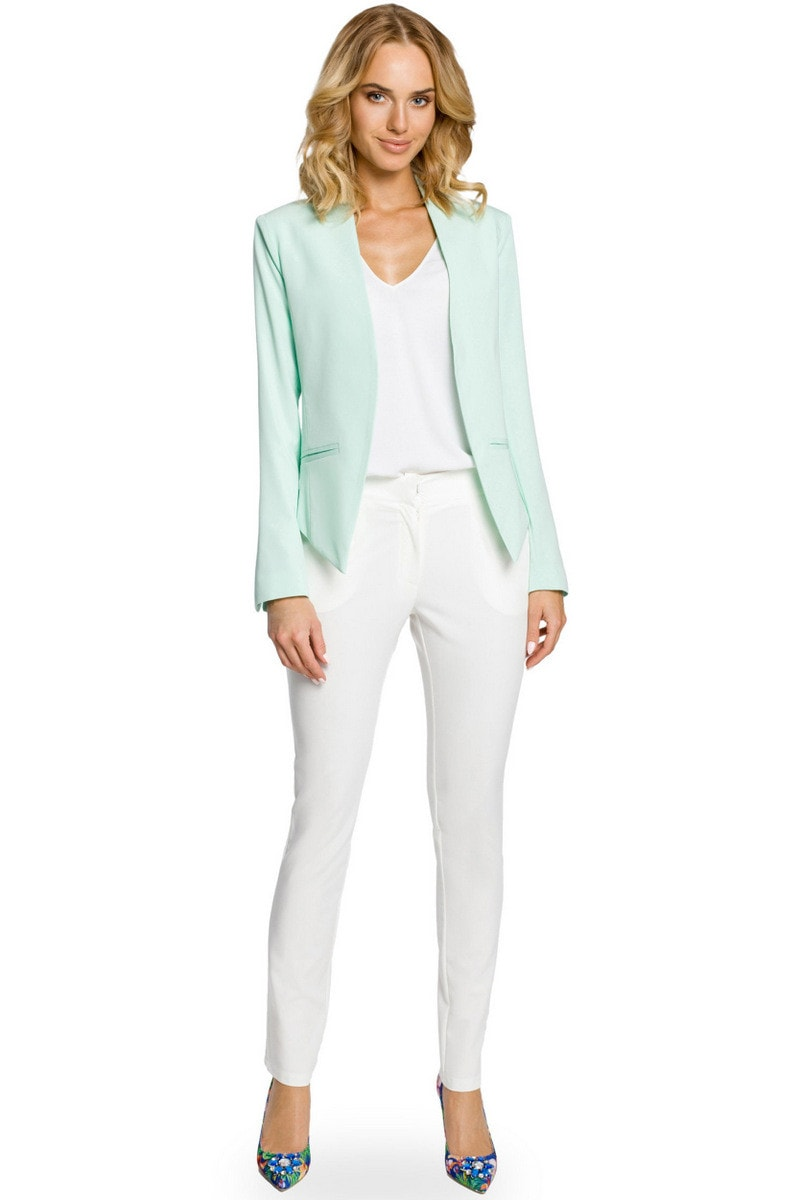 Made Of Emotion Woman's Jacket M031 Mint