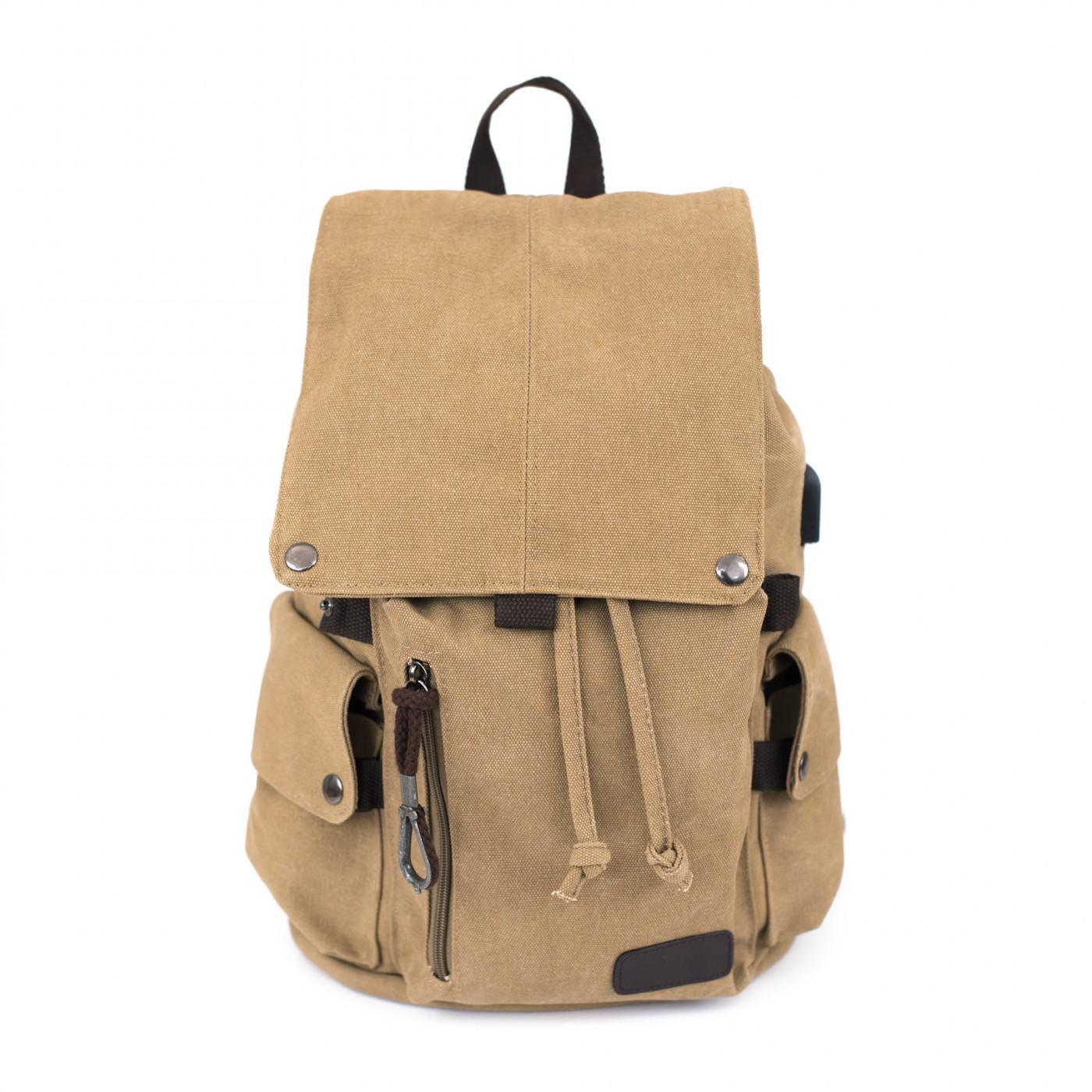Art Of Polo Unisex's Backpack tr19542 Dark