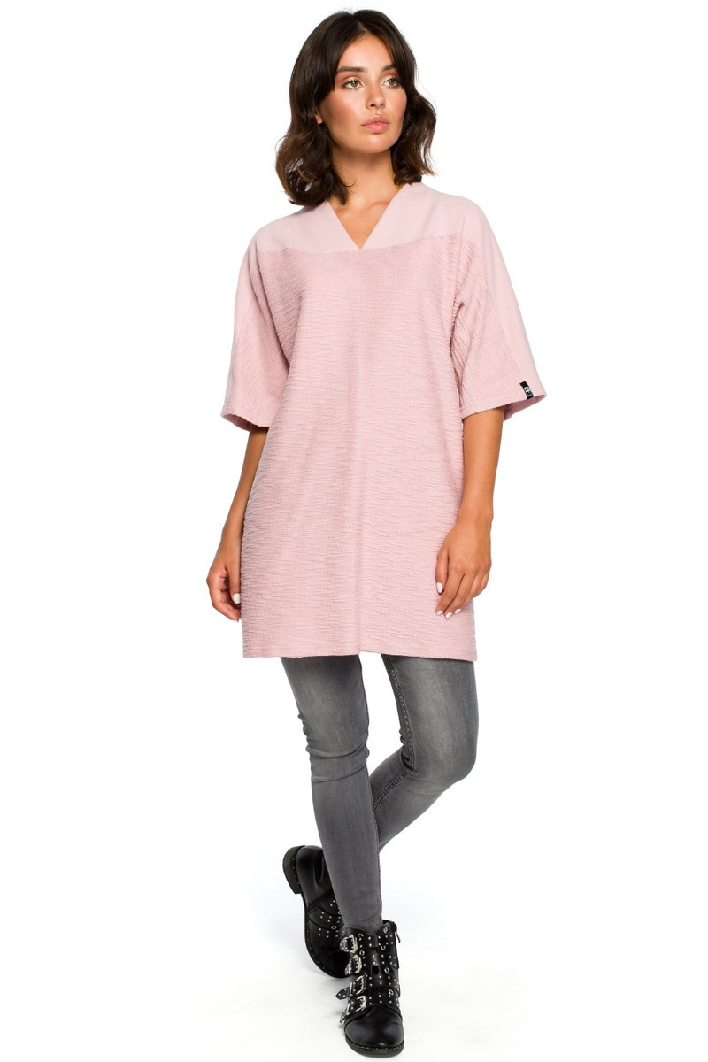 BeWear Woman's Dress B093 Powder