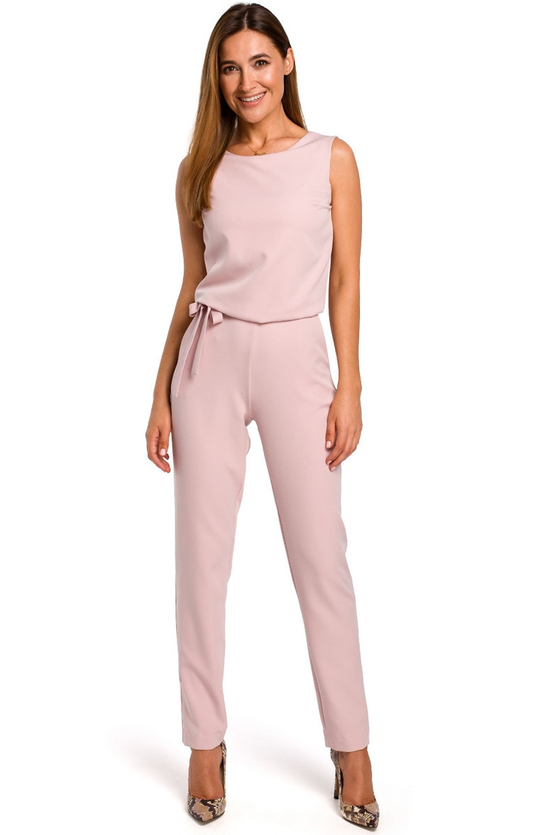 Stylove Woman's Jumpsuit S191 Powder