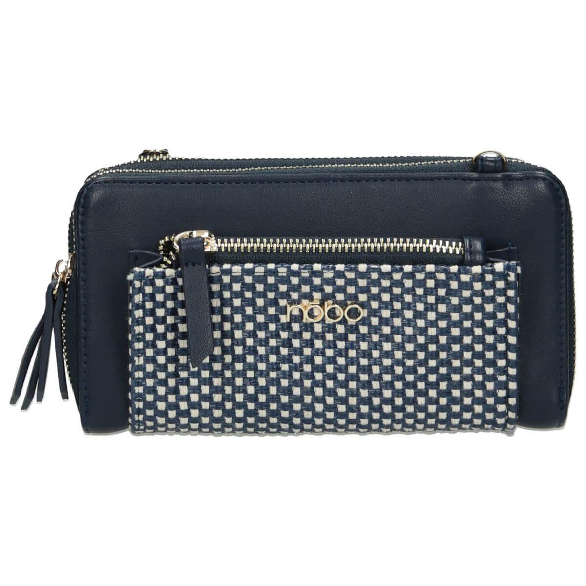 Nobo Woman's Bag NBAG-I1590-C013 Navy Blue