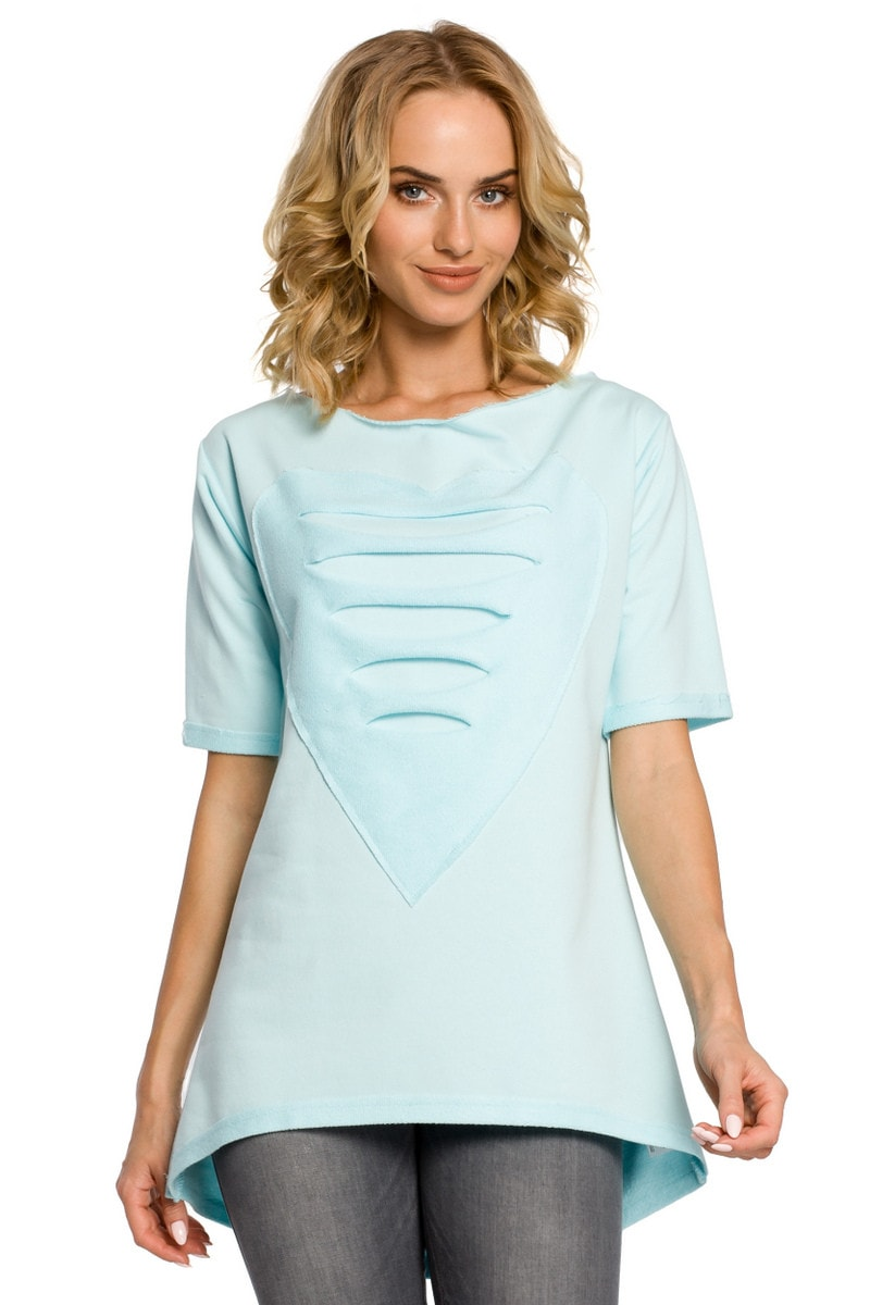 Made Of Emotion Woman's Tunic M023 Mint