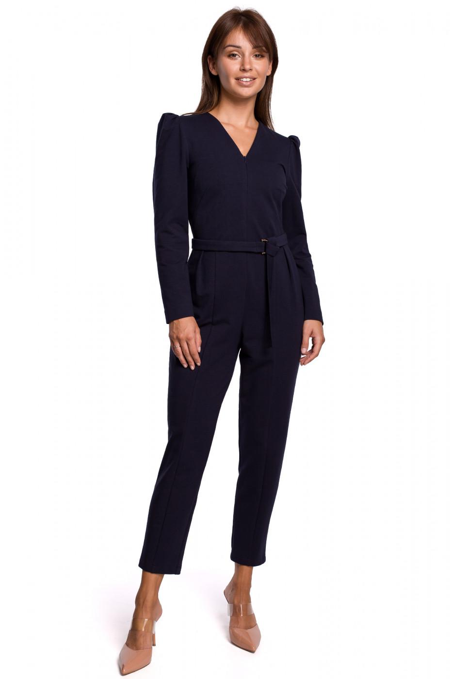 BeWear Woman's Jumpsuit B160 Navy Blue
