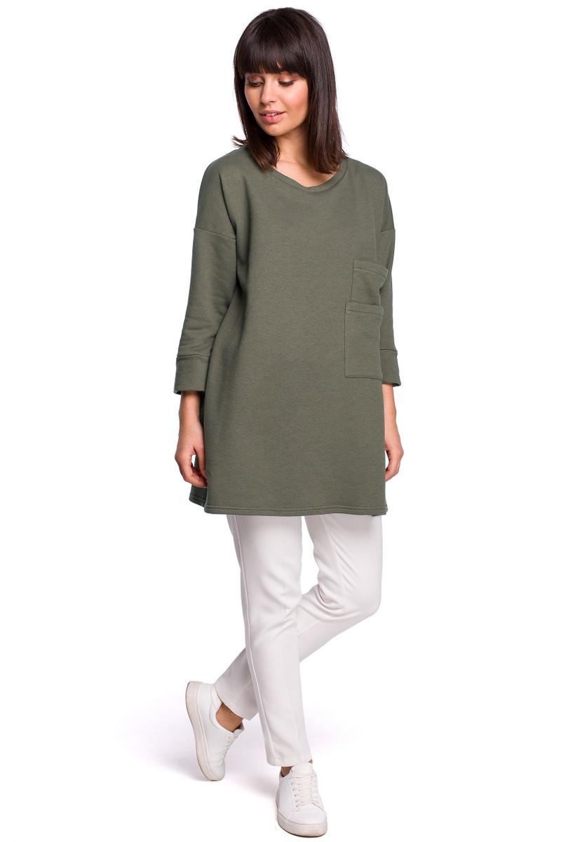 BeWear Woman's Blouse B106 Khaki