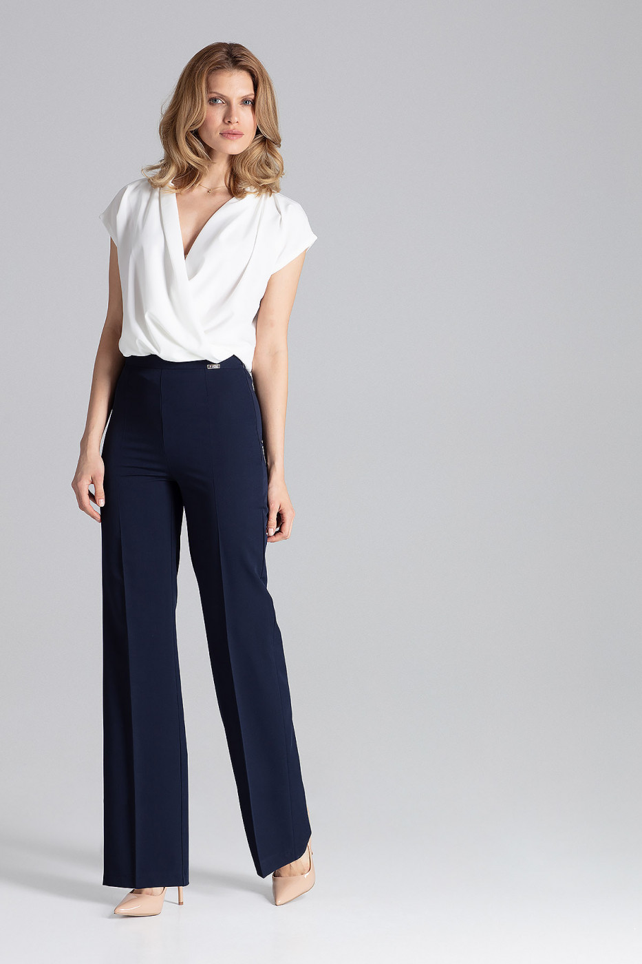 Figl Woman's Pants M657 Navy