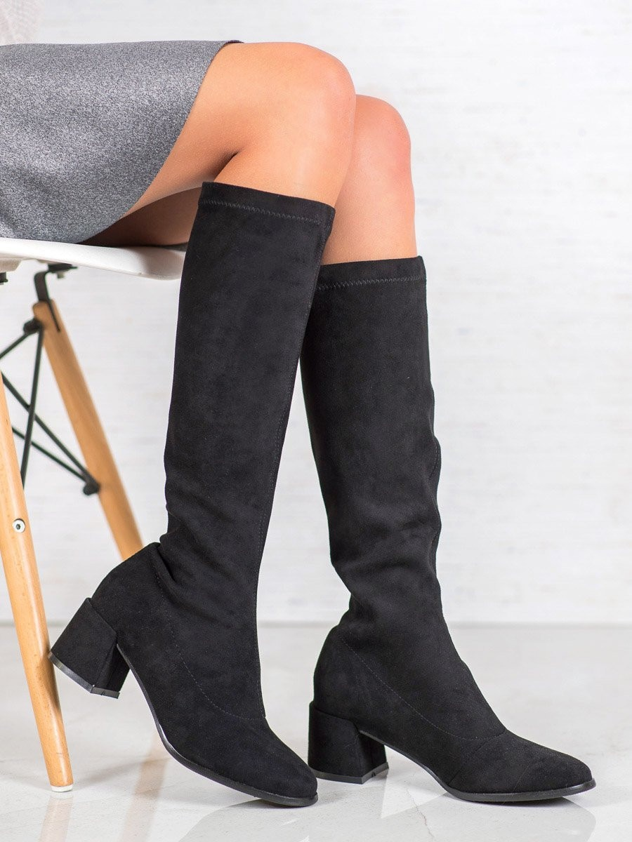 FILIPPO SUEDE BOOTS ON THE POST