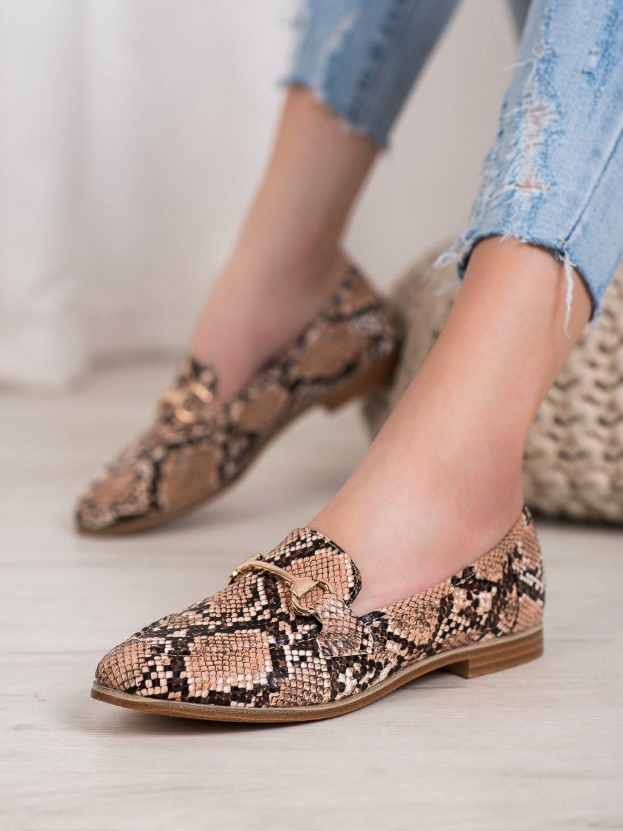 Women's moccasins SEASTAR Patterned