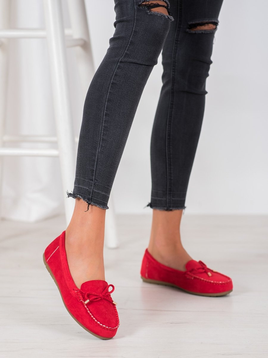 SUPER ME SUEDE LOAFERS