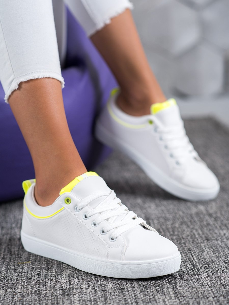 SHELOVET STYLISH LEATHER SNEAKERS