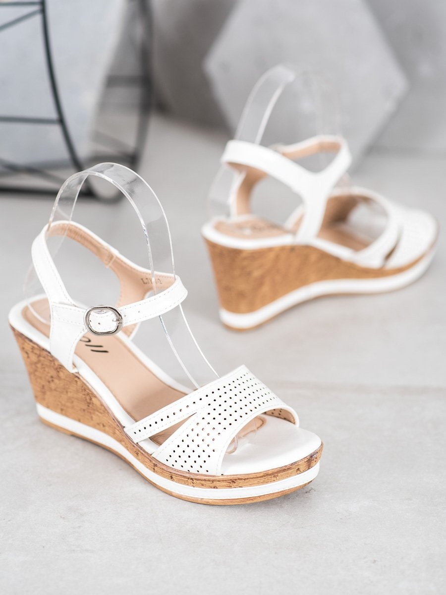 GOLL SANDALS ON COTURNIE WITH ECO LEATHER