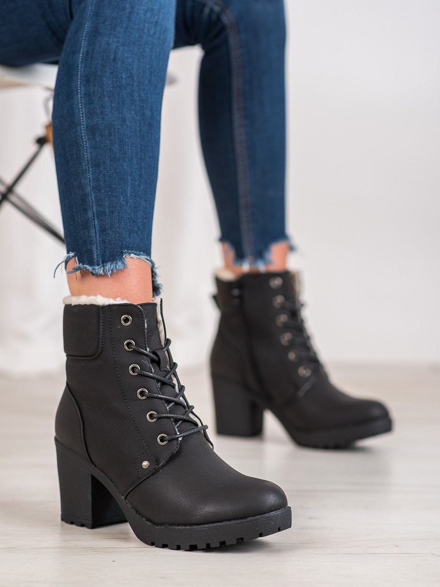 J. STAR CASUAL ANKLE BOOTS WITH BINDING