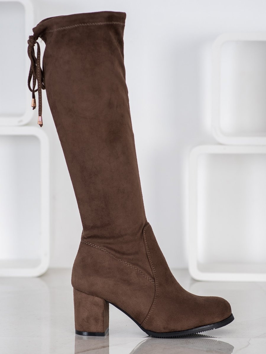 J. STAR CLASSIC SUEDE BOOTS