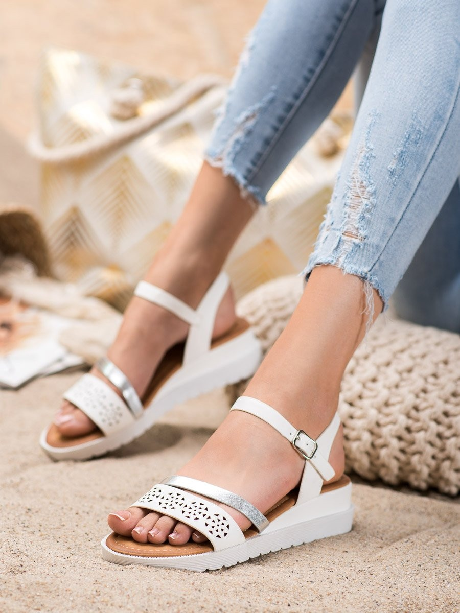 RENDA SANDALS ON COTURNIE WITH ECO LEATHER