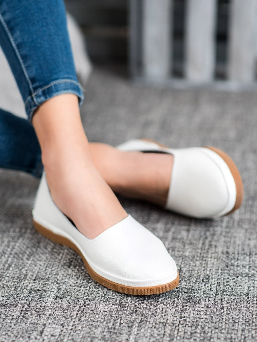 LEATHER SLIP ON VINCEZA LEATHER SHOES