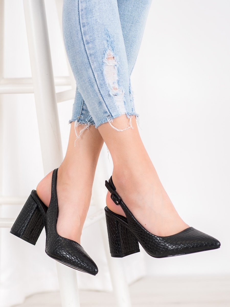 COMER CLASSIC PUMPS WITH FACE-UP HEEL