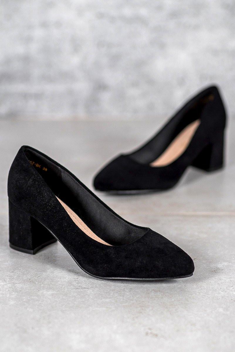 VINCEZA BLACK PUMPS