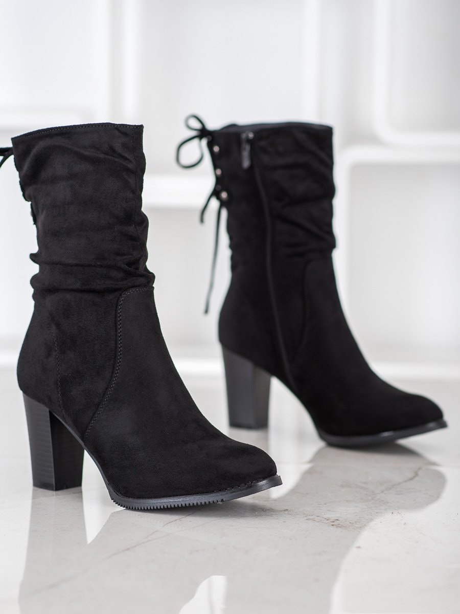 Women's boots J. STAR Suede