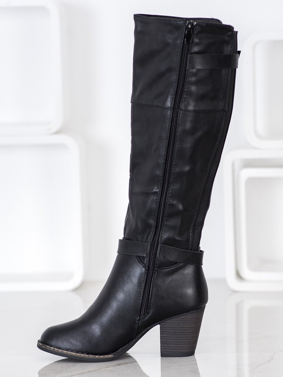 J. STAR BOOTS WITH BUCKLES