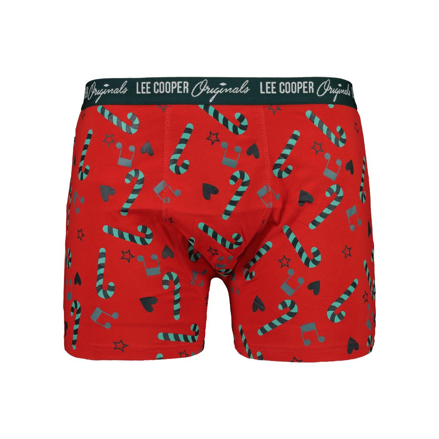 Boxerky pánské Lee Cooper Vánoce 1 kusové