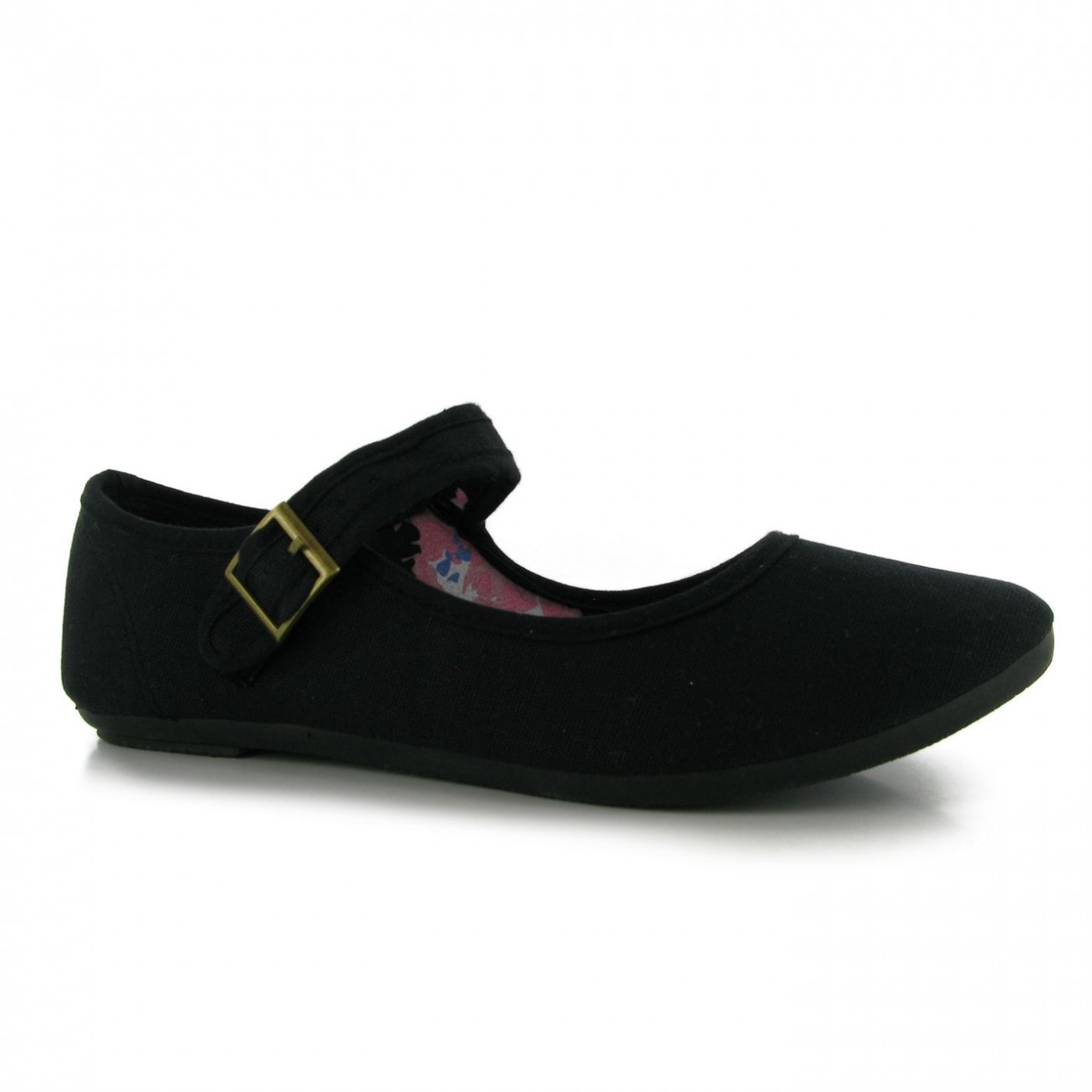 Miss Fiori Canvas Mary Jane Ladies Shoes