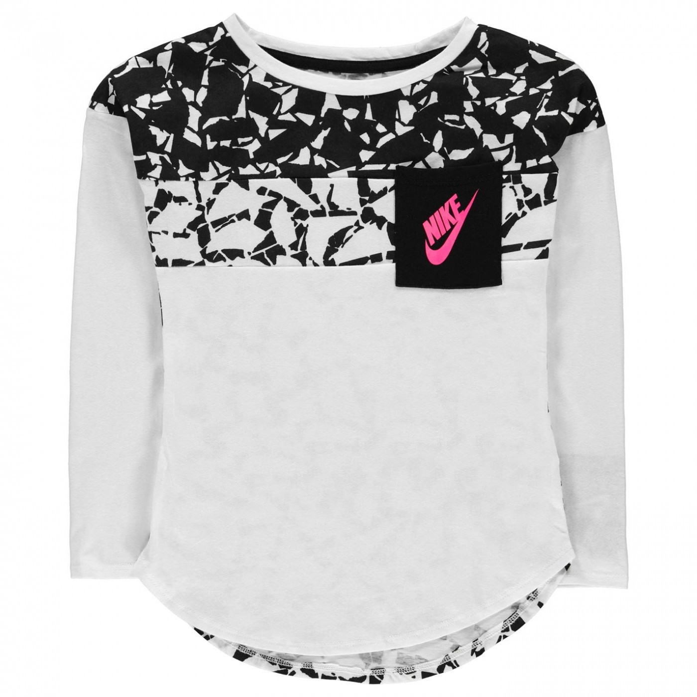 f84ffbbff Nike AOP Long Sleeve T Shirt Infant Girls - FACTCOOL