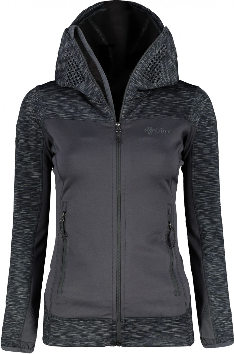 Women's fleece hoodie Kilpi ASSASIN W
