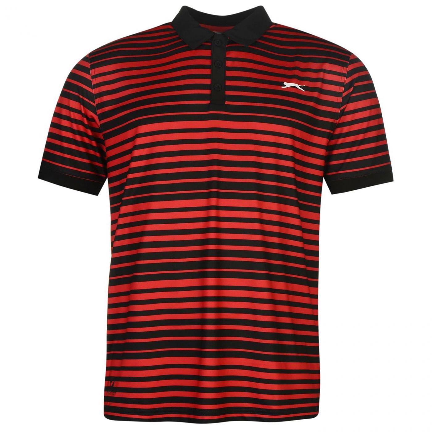 32da8d896b9b Slazenger Fine Stripe Polo Shirt Mens - ALIATIC