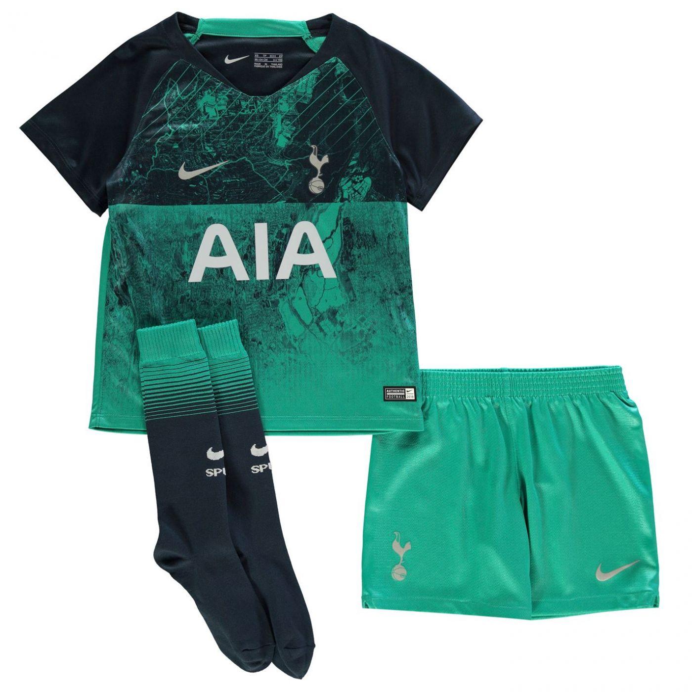 Nike Tottenham Hotspur Third Mini Kit 2018 2019