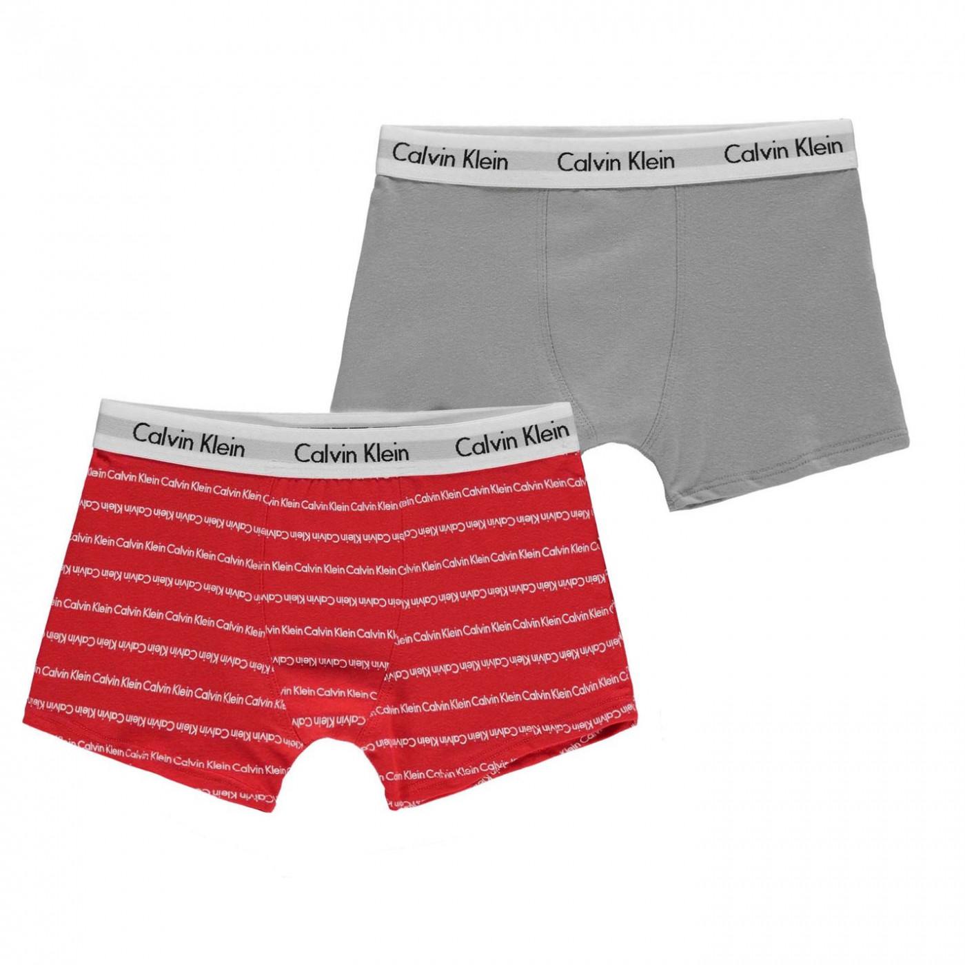 ee7ef11654 Calvin Klein 2 Pack Trunks - FACTCOOL